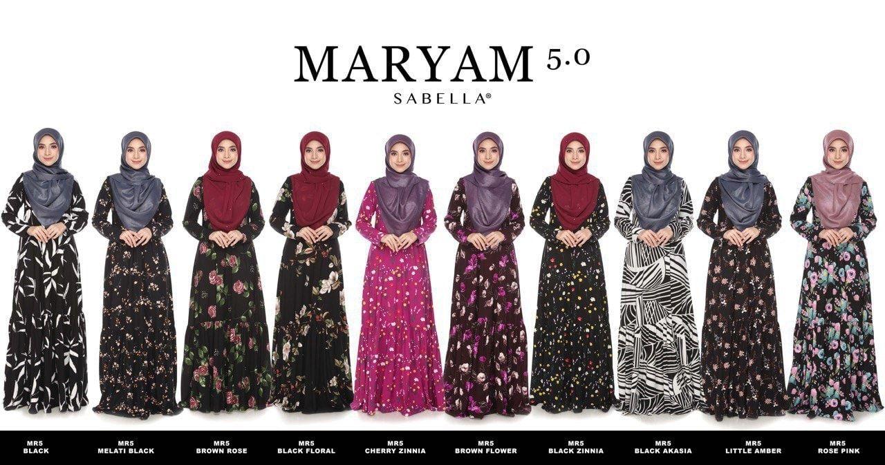 baju jubah maryam sabella 5.0 1