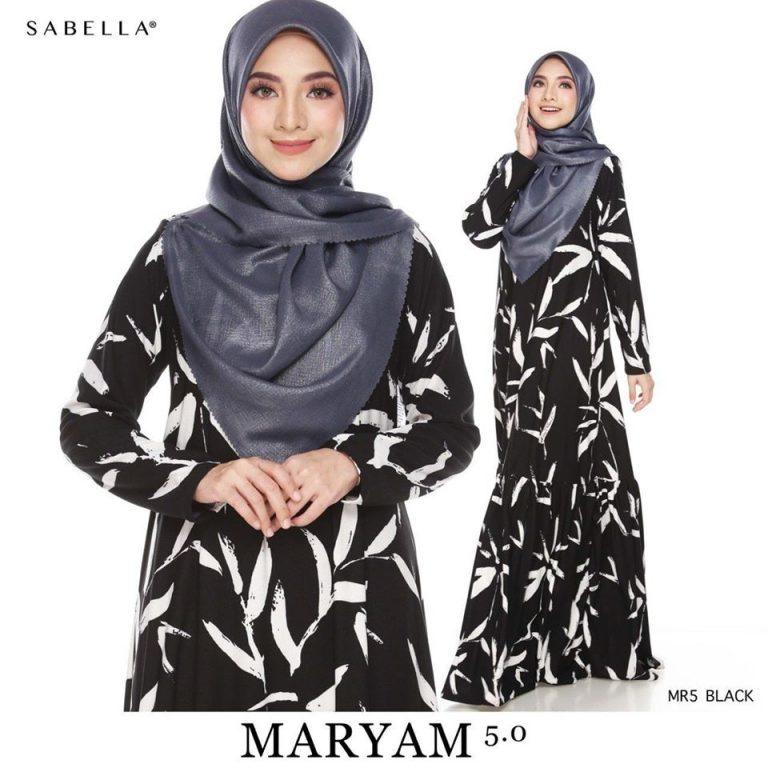 baju jubah maryam sabella 5.2