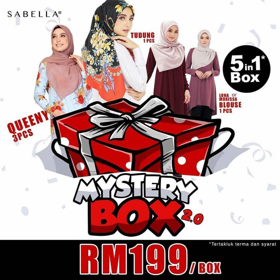 promosi sabella mystery box 2.0